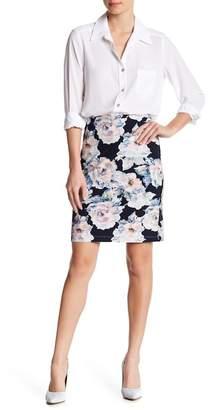 Karen Kane Floral City Skirt