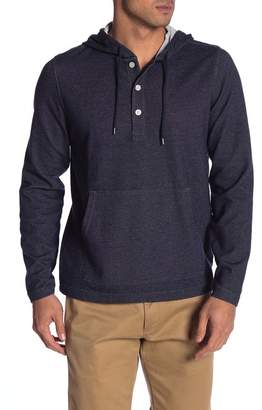 Brooks Brothers Placket Henley Hoodie