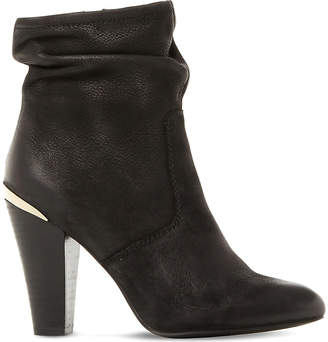 Steve Madden Ladies Black Stylish Wannabee Sm Leather Boots