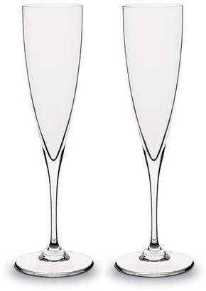 Baccarat Dom Perignon Champagne Flutes, Set of Two