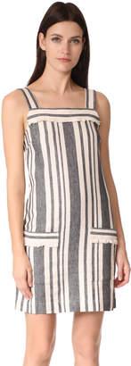 Whistles Cici Stripe Bardot Dress $259 thestylecure.com