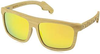 Earth Wood Aroa Polarized Square Sunglasses