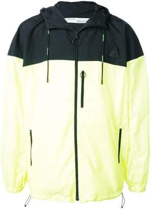 Off-White oversized windbreaker jacket