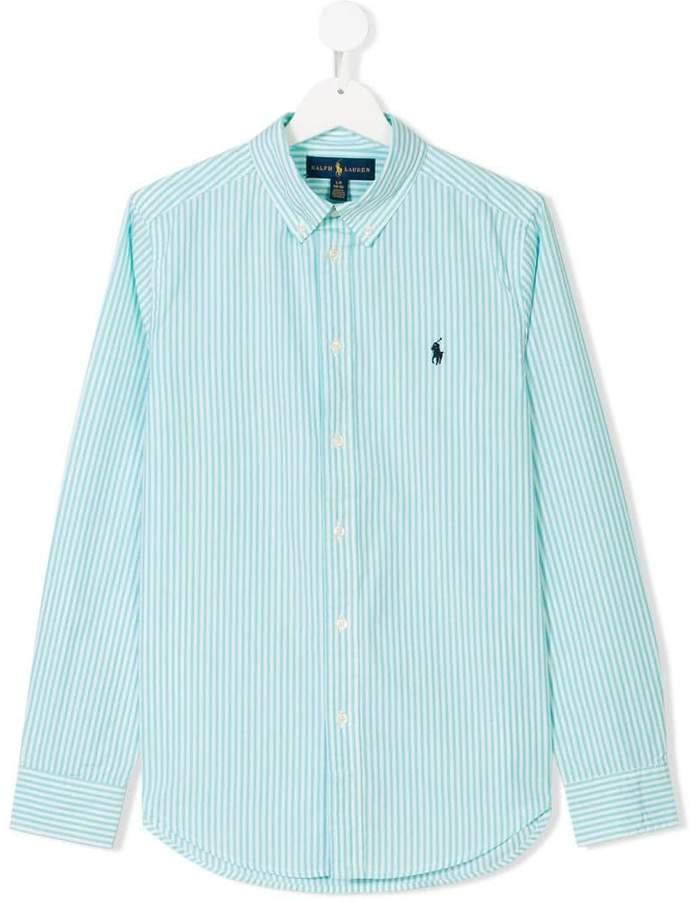 TEEN button-down striped shirt