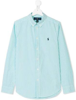 Ralph Lauren Kids TEEN button-down striped shirt