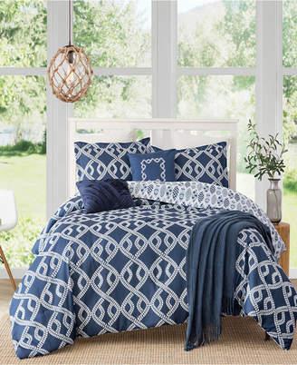 Caribbean Joe Cathay Home Inc. Aruba 4-Piece Queen Comforter Set Bedding