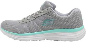 Skechers Womens All Joy Trainers Grey/White