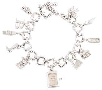 Burberry Signature Charm Bracelet Watch