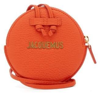 Jacquemus Le Pitchou Leather Coin Purse - Womens - Orange