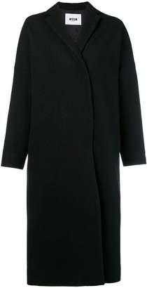 MSGM rear print coat