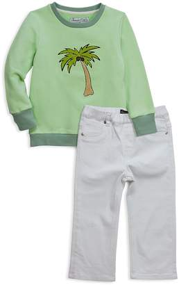 Sovereign Code Boys' Palm Tree Sweatshirt & Jeans Set