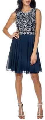 LACE & BEADS Memphis Fit & Flare Dress