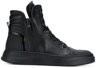 Bruno Bordese lace-up hi-top sneakers