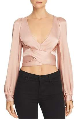 Alice McCall I Like That Crossover Crop Top