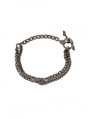 M. Cohen braided chain bracelet $420 thestylecure.com