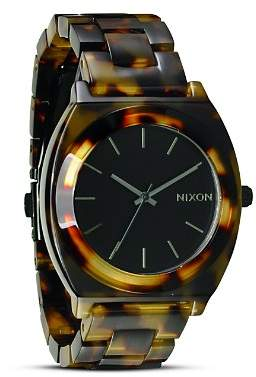 Nixon The Time Teller Acetate Watch, 40mm