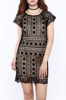 Goldie Black Lace Dress