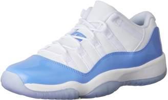 Nike Jordan Kids Jordan 11 Retro Low Bg White/University Blue Basketball Shoe 5.5 Kids US