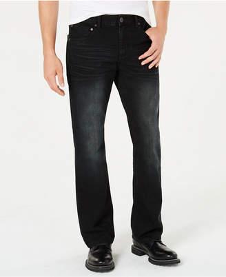 INC International Concepts I.n.c. Men Black Bootcut Jeans