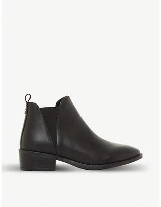 Steve Madden Dante V-cut leather chelsea boots