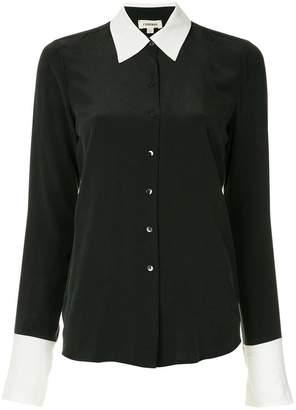L'Agence button down shirt