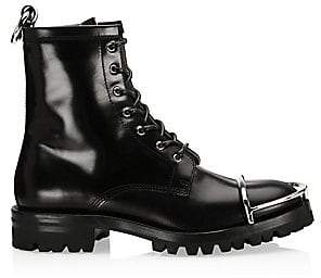 Alexander Wang Women's Lyndon Box Leather Combat Boots