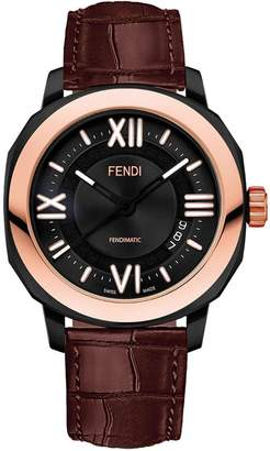 Fendi Fendimatic watch with interchangeable straps