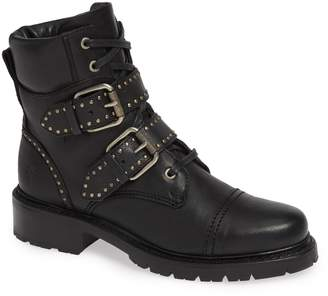 Frye Samantha Stud Buckle Boots