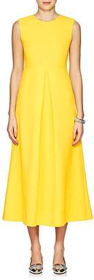 Lisa Perry Women's Wool Crepe Midi-Dress