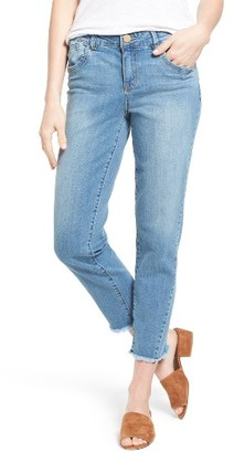 Women's Wit & Wisdom High Waist Crop Jeans $68 thestylecure.com