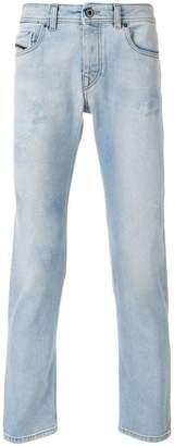 Diesel Black Gold slim-fit chalk jeans