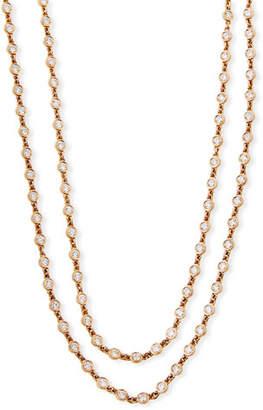 Rahaminov Diamonds 18k Diamond By-the-Yard Necklace