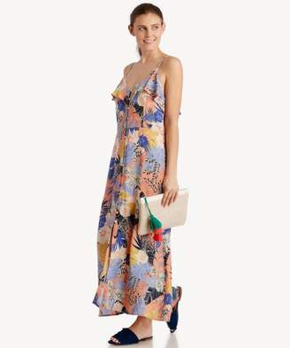 Sole Society Isabella Button Down Maxi Dress