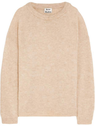 Acne Studios - Dramatic Knitted Sweater - Beige