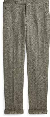 Ralph Lauren Wool Herringbone Suit Trouser