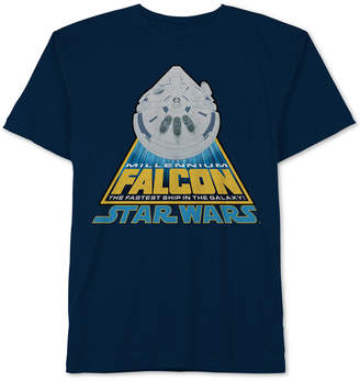 Star Wars Big Boys Millennium Falcon Cotton T-Shirt