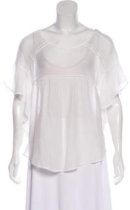 Faithfull The Brand Short Sleeve Blouse