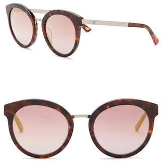 Web WE0196 Round Acetate 52mm Sunglasses