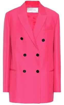 Valentino Silk and wool jacket