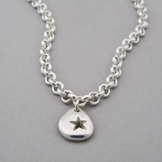 Neve Latham & Pebble Star Chain Necklace