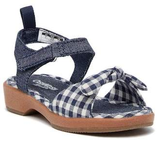 Osh Kosh OshKosh Punzel Gingham Sandal (Toddler & Little Kid)
