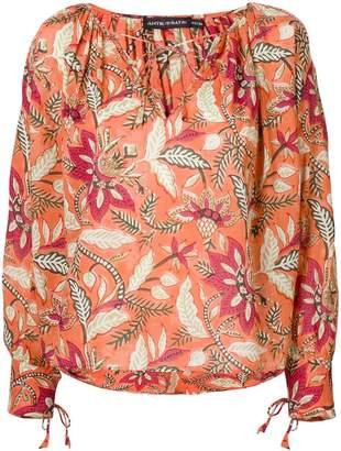 Antik Batik floral print blouse
