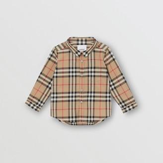 Burberry (バーバリー) - Burberry ヴィンテージチェック コットンシャツ