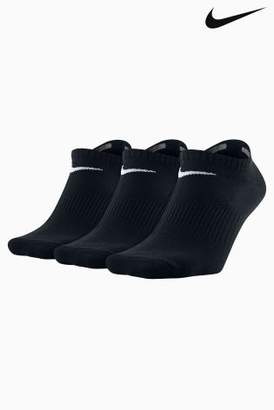 Next Mens Nike Mens Lightweight No Show Socks Three Pack