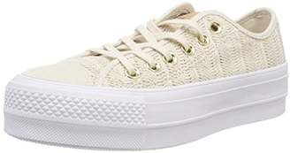 Converse CTAS Lift OX Driftwood/White Trainers 248