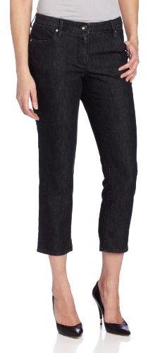 Chaus Women's Solid Crop Jean