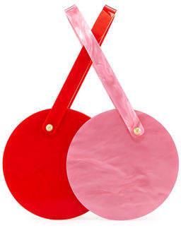 Edie Parker Double-Shot Acrylic Clutch Bag