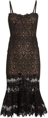 Jonathan Simkhai Guipure Lace Midi Dress