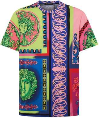 Versace Medusa Colour Block T-Shirt