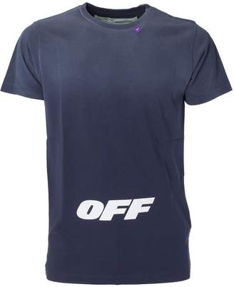 Off-White Off White Logo Print T-shirt